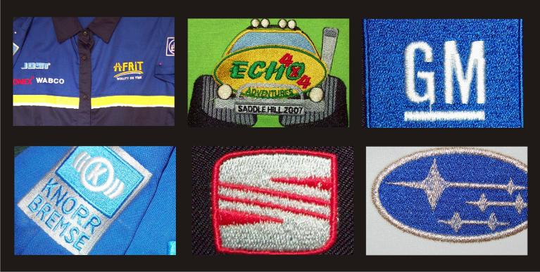 Afrit Echo 4x4 GM Embroidery logo's